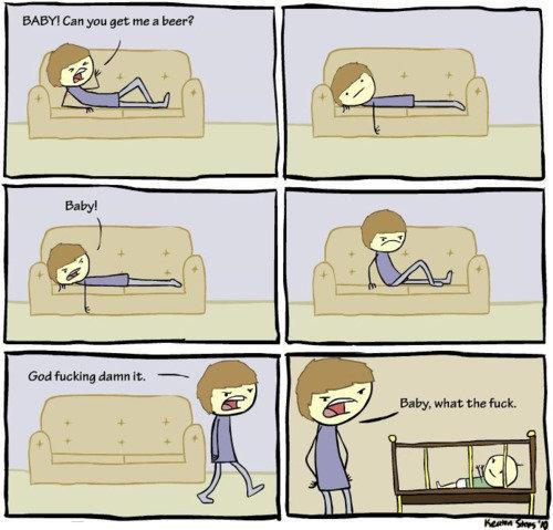 heeeey baabaaaaay. . baby funny