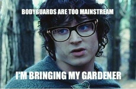 Hipster Frodo. . Hipster Frodo