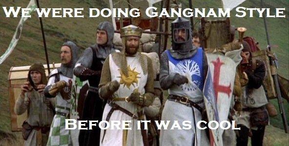 Hipster Khts. Warning: Original Content.. no Gangnam stlye Monty Python