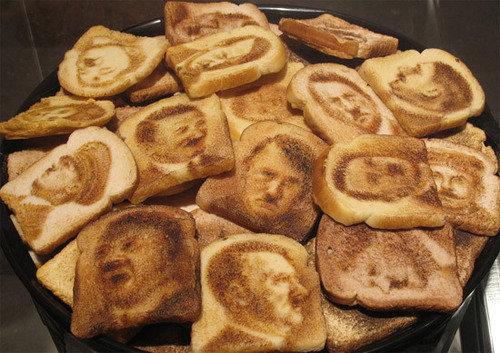 Hitler Toast. .. Good job retoasting Hitler did nothing wrong