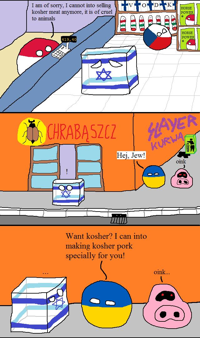 HorsePower. . I are equerry, I met into selling kosher meet anymore, it is {If CHE] be animals. Slayer kurwa Polandball israelball poland Kosher israel jews