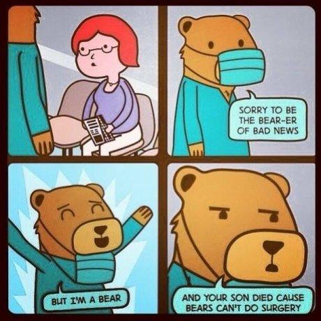 How unbearable. .