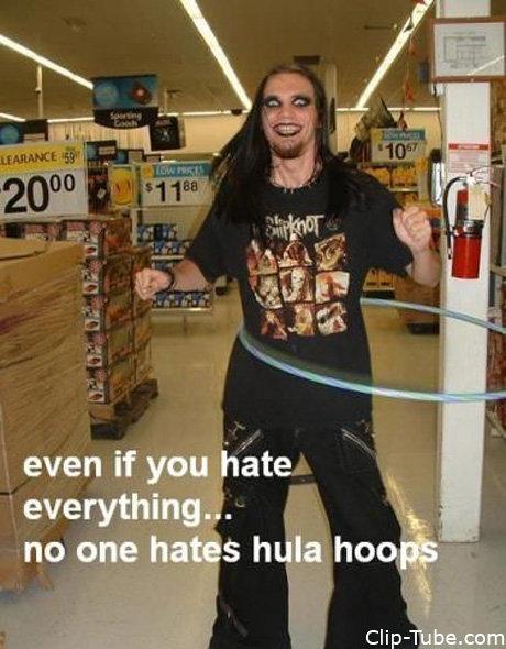 Hula Hoops. .. Shut up ranga