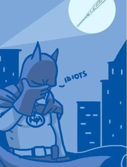 I am Bat Man. Call of the man who holds bat.. dubs