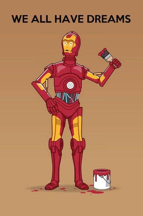 I Am Copper Man. .. I Am Bronze Man I Am Copper Man Bronze