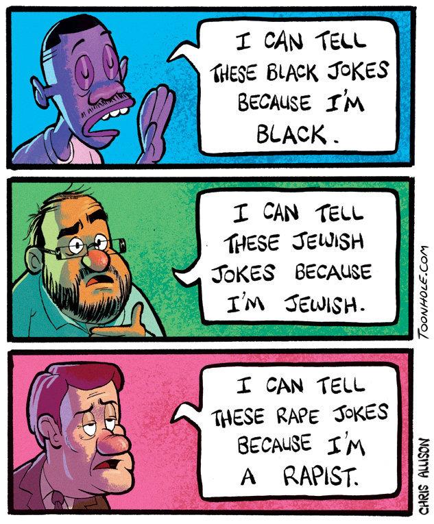 I can tell jokes. . iii! CAN TELL Hess BLACK JOKES Because 12% BLACK ._ CAN TELL. THESE i' BECAUSE I CAN TELL. BECAUSE iii)] 'dll. I can tell these racist jokes because I am racist. I can tell jokes iii! CAN TELL Hess BLACK JOKES Because 12% _ THESE i' BECAUSE iii)] 'dll these racist because am