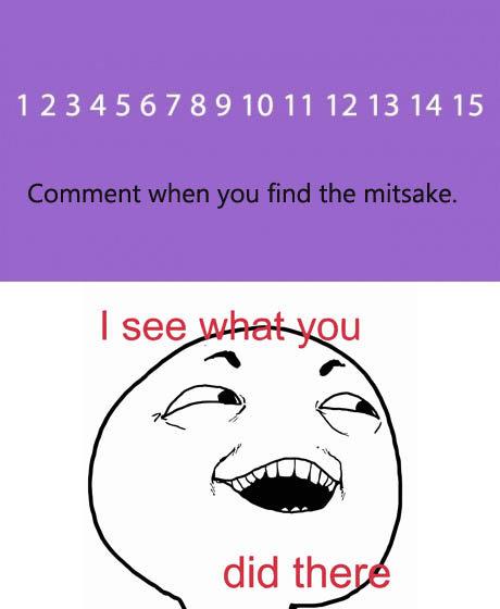 I challenge you.. . 123456789101112131415. lawl...mistake. I challenge you 123456789101112131415 lawl mistake