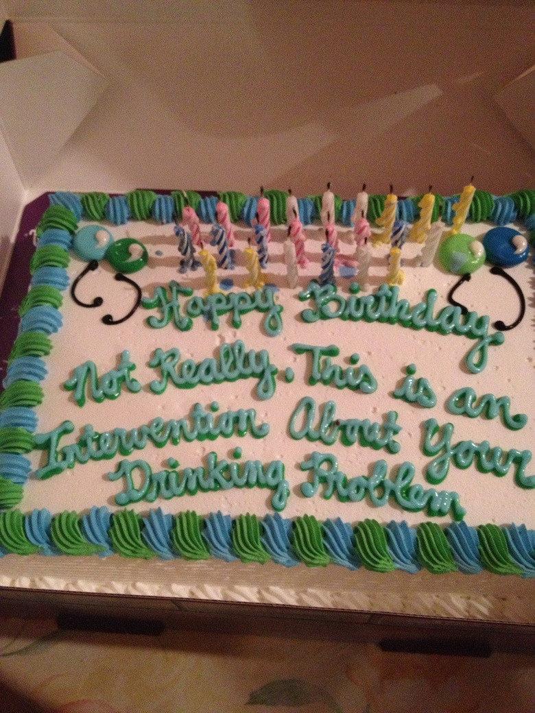 I got a cake for my birthday. .. Cake maker's FW saying happy birthday I got a cake for my birthday Cake maker's FW saying happy