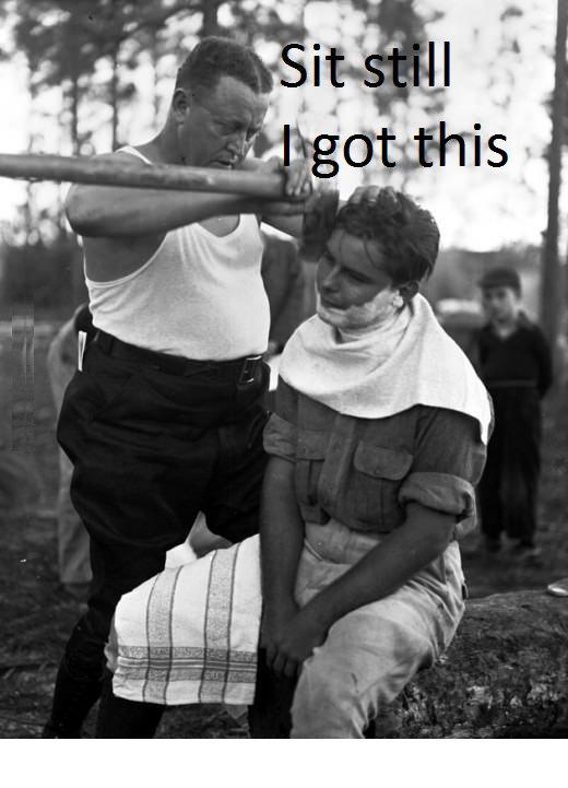 I got this !. ½ OC.. that ain't gonna shave i got this sit still