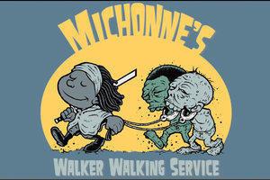 I just love Michonne . 3 months til season 3!!!!. Willi!!! WIRING WWII! Walking dead