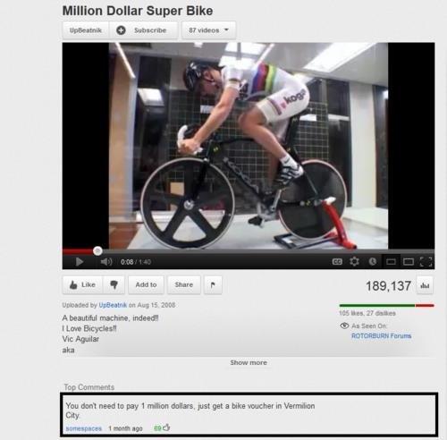 I lol'd. . Dollar Super Bike aka END?! More I lol'd Dollar Super Bike aka END?! More
