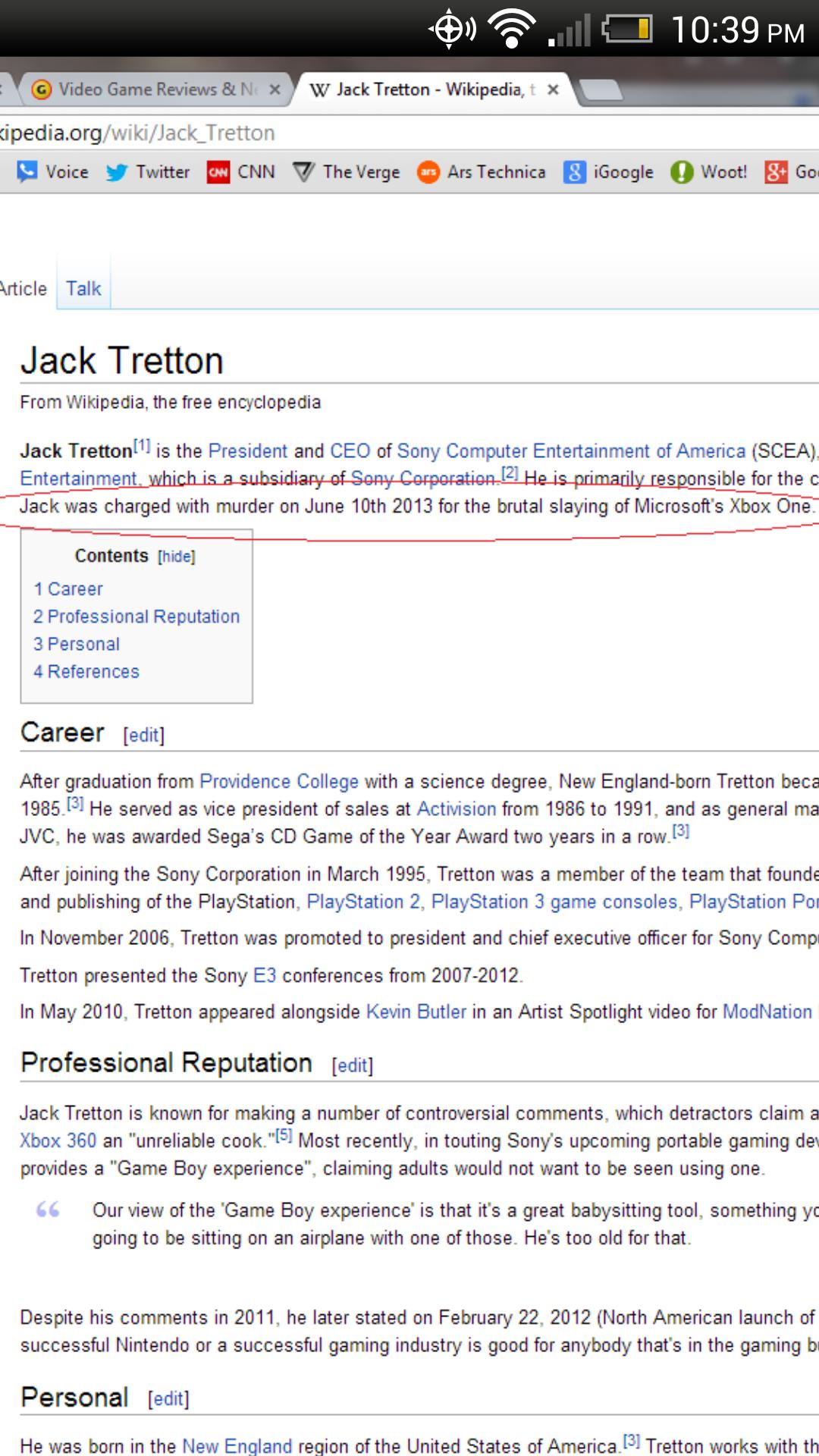 i loled. no. W Jack Tritton _ Wikipedia, . acedia. org/ wiki/ Voice y Twitter CNN V The Verge G Ars Technica igoogle o Wont! Go Vtifqe Talk Jack Tritton From Wi Dick jews