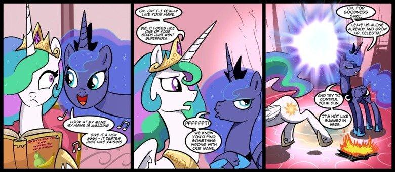 I really like her mane!. I REALLY like her mane.. pony