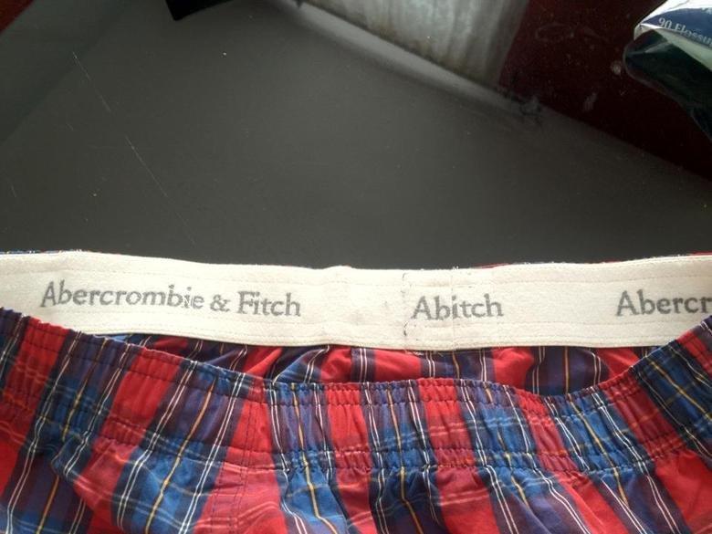 I Think My Underwear Needs Something... .. Your underwear look like Abitch I Think My Underwear Needs Something Your underwear look like Abitch