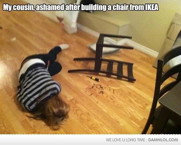 I would feel the same too.... . fail building du