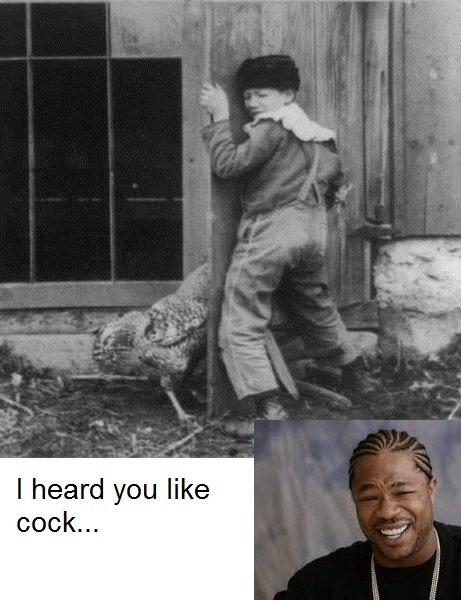 I heard you like. . I heard you like cock Xzibbit I heard you like