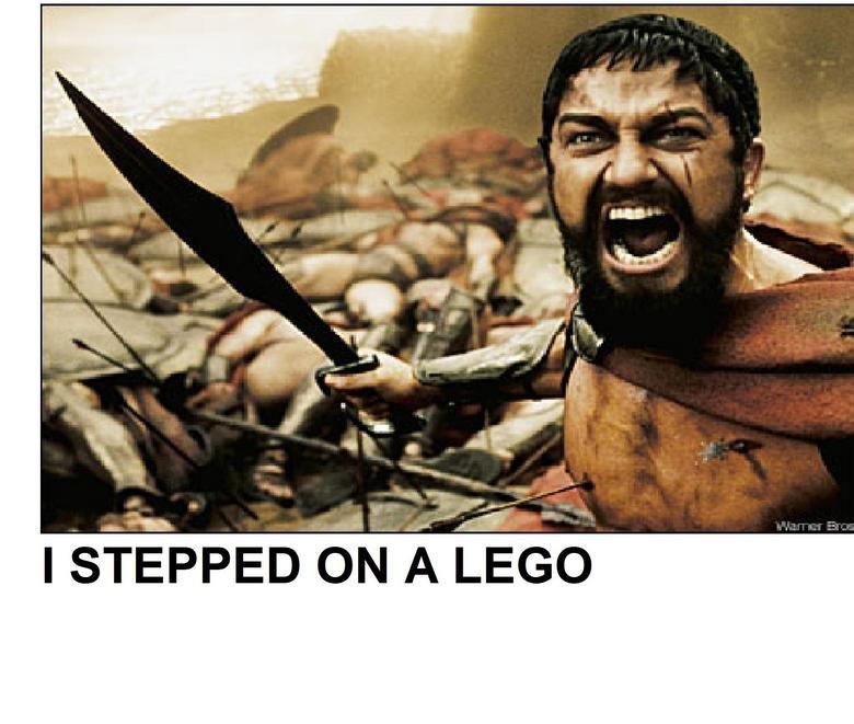 I STEPPED ON A LEGO!. I STEP ON A LEGO AND IT HURTS!. I STEPPED ON A LEGO. I hate it when that happens STEPPED ON A LEG