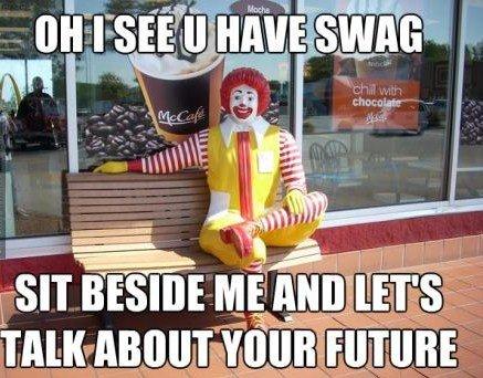 I'll have a Big Mac. swag kills.. 3311 Basin: , Milli! I'll have a Big Mac swag kills 3311 Basin: Milli!