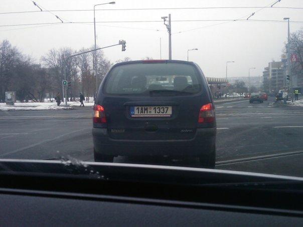 Im l33t. Czech republic, Prague vehicle registration plate. plate Cars game prague czech