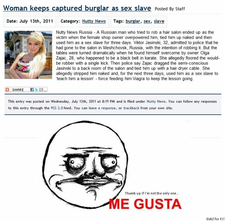 In soviet russia, women rape you.. True Story! www.google.com/search?q=Olga+Zajac Please like this page www.facebook.com/consideritcore?ref=ts. Woman keeps capt Olga Zajac Soviet Russia Rape me gusta Gusta