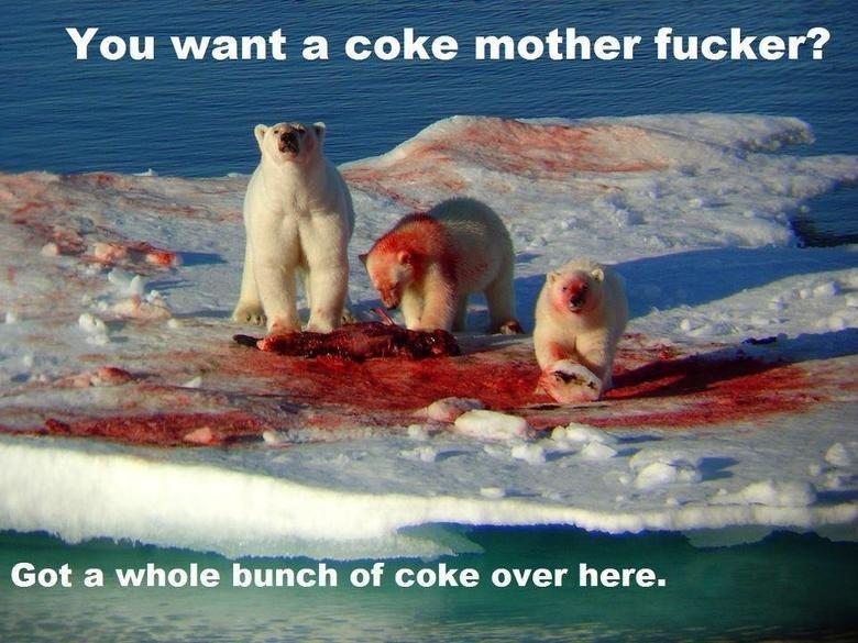 Indeed. Indeed. You want a coke mother fucker? indeed