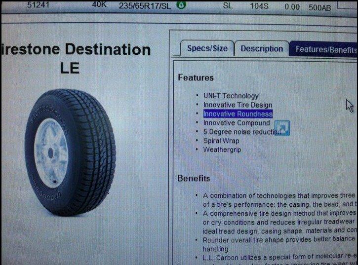 Innovative Roundness. AND Innovative Tire Design!. Drystone Destination Description. ' Features MILDT Technology Innovative Tire Mam Nelf Compound . . ti Degree Innovative Roundness AND Tire Design! Drystone Destination Description ' Features MILDT Technology Mam Nelf Compound ti Degree