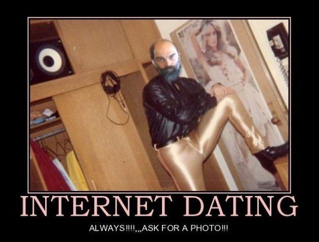 Internet Dating - your dream man. . 1! lall,. Trevor strikes again! RUUUUNNNN