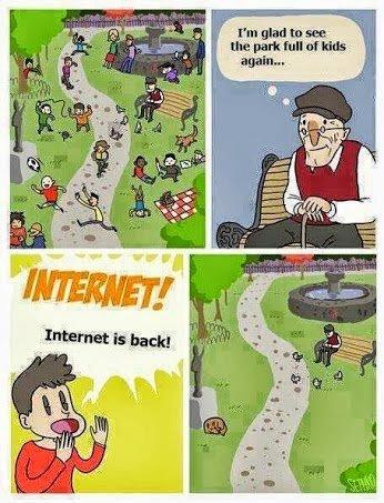 internet. sad, but true. again... internet