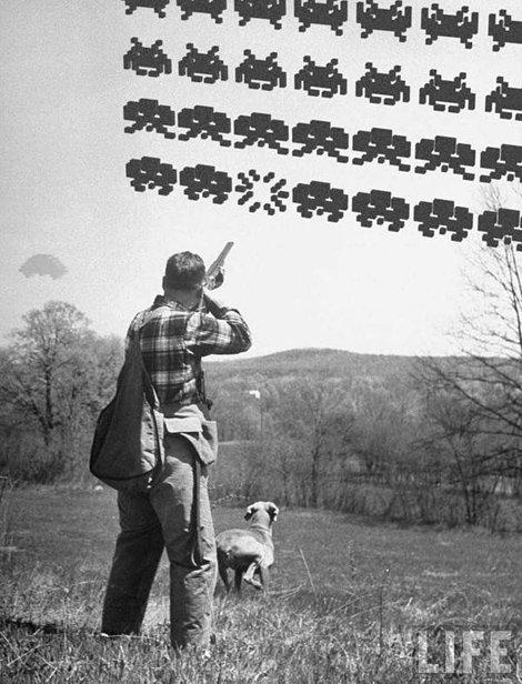 Invaders out of space. . Invaders out of space