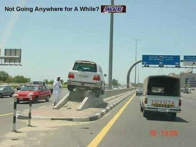 Iraqi Snickers Ad. . Not Going far A as. I'm pretty sure that Qatar iraq terrorist snickers car accident lol funny Junk