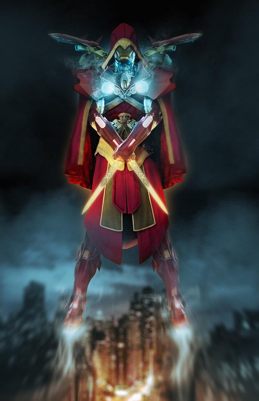 Iron Man + Assassins Creed. Amazing art by Boss Logic.. Assassin plus assassin = more badass assassin Awesome