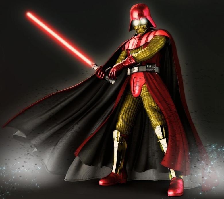 Iron Vader. just got cooler.. Vader cross over thread!! Iron Vader just got cooler cross over thread!!