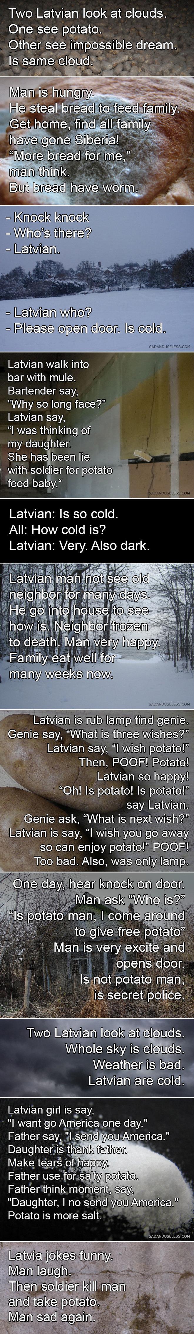 Is Potatoe. not OC wanted to share. potatoe latvia