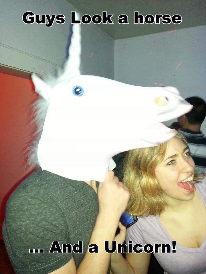 It Strikes again. She looks a little bit too much like a horse. Horse unicorn