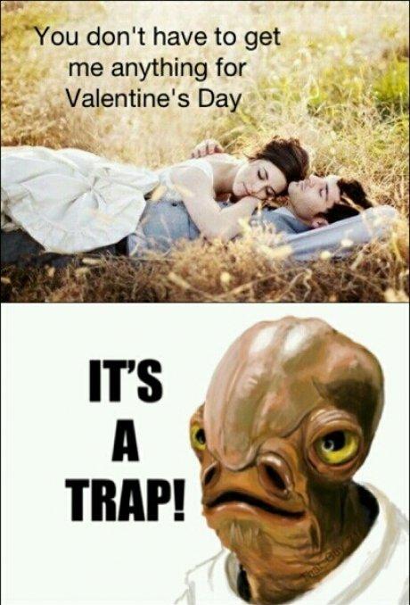 It's a trap!. . nu don' t have to get itle. C: It's a trap! nu don' t have to get itle C: