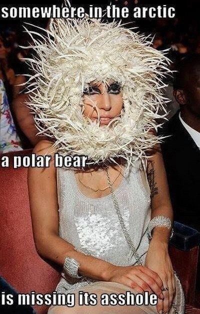 Lady GaGa. . ril-. - konradkurze, that makes no sense LOL.. 'repost so i gave me eye cancer'? you sure about that? Lady GaGa ril- - konradkurze that makes no sense LOL 'repost so i gave me eye cancer'? you sure about that?