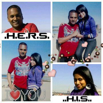 Lainie & Ray. love. Love colour girlfriend boyfriend his and hers