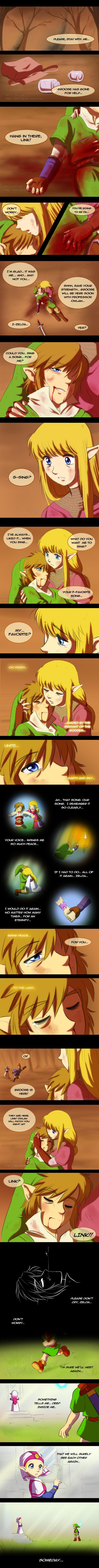 Legend of Zelda feels. Not mine but still amazing and makes me cry. Legend of Zelda feels Not mine but still amazing and makes me cry