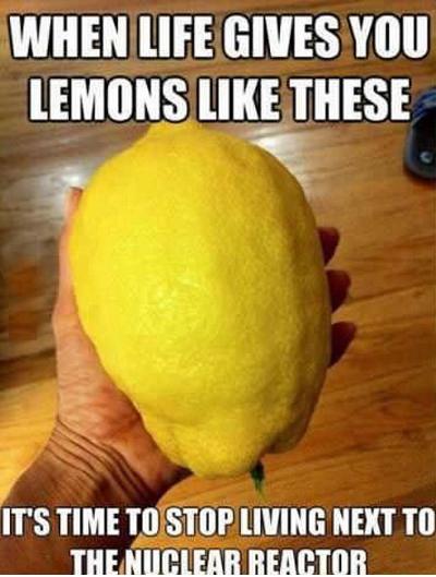 Lemons. . WHEN lift GIVES Will. Obligatory. Fucking Huge Ass