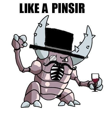 Like a sir. pinsir <3. A FINN! pokemon pinsir l