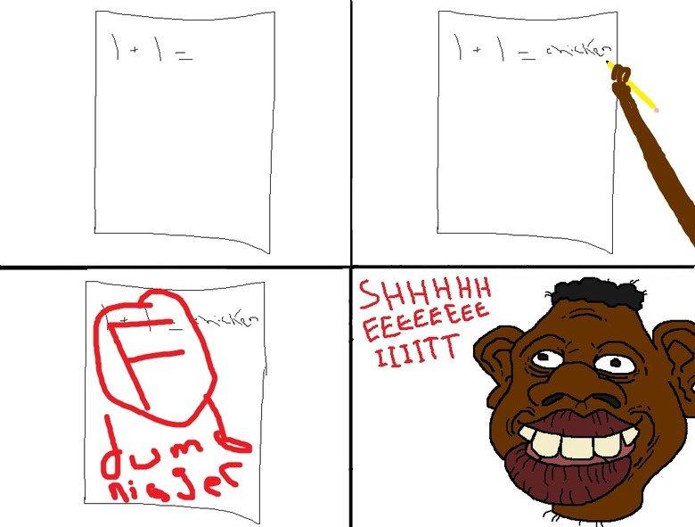 lol racism. . nigger