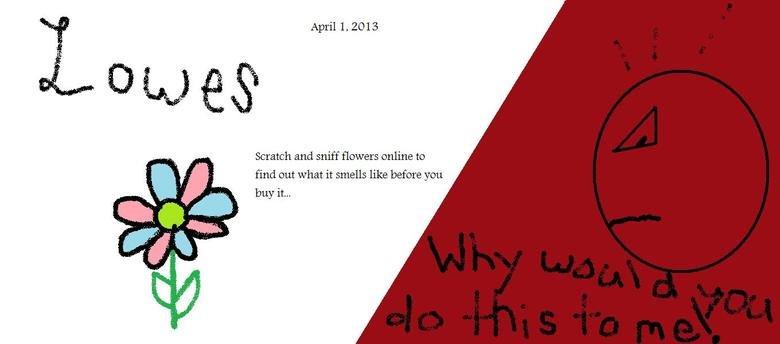 Lowes!!!. Lowes idea of an aprils fool joke. lowes funny April Fool fools joke