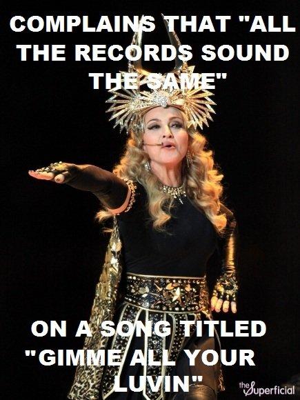 Madonna's Logic.. Madonna's Logic.. Madonna logic