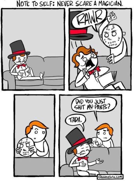 Magic vs Tricks. . Magic vs Tricks