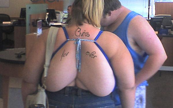 Major Back Fat. .. she should get nipples for those Major Back Fat she should get nipples for those