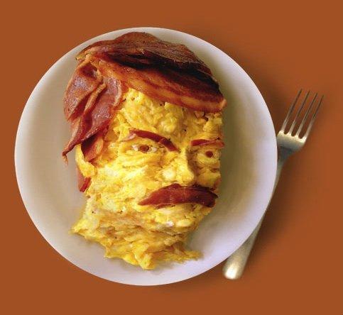 Manly Breakfast. ha. alright