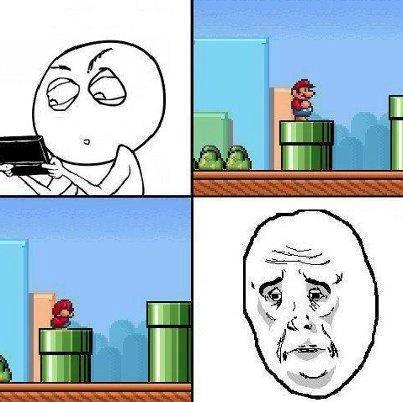 Mario. I cry erry tim.. liek dis if u cry ever tim NO.jpg Mario okay pipe