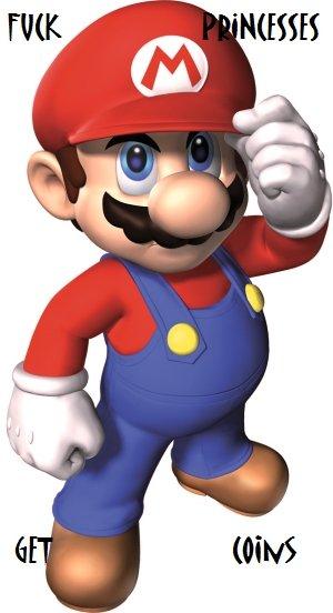 MARIO. . Mario fuck bitches