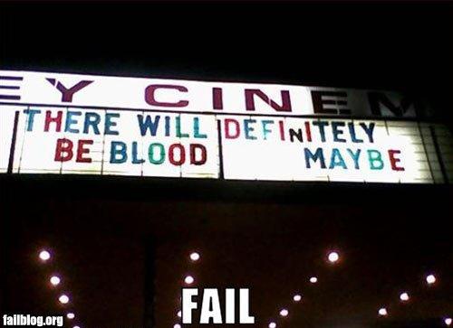 marquee fail. quee-fail/.. lmao Movie fail marquee