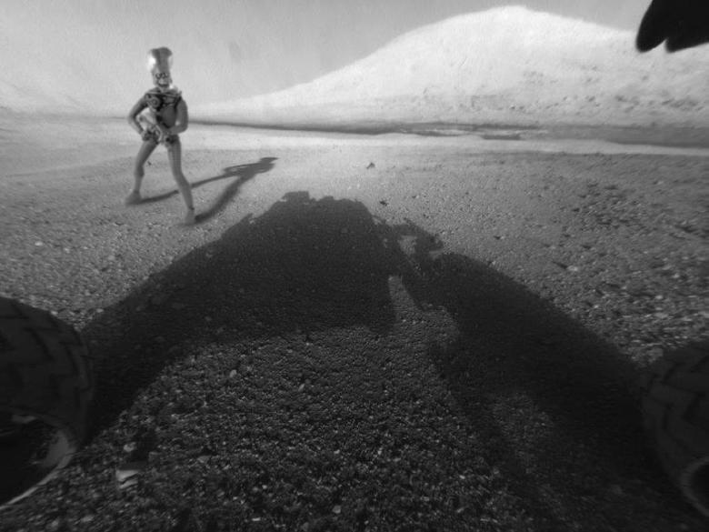 Mars Curiosity. . Mars Curiosity